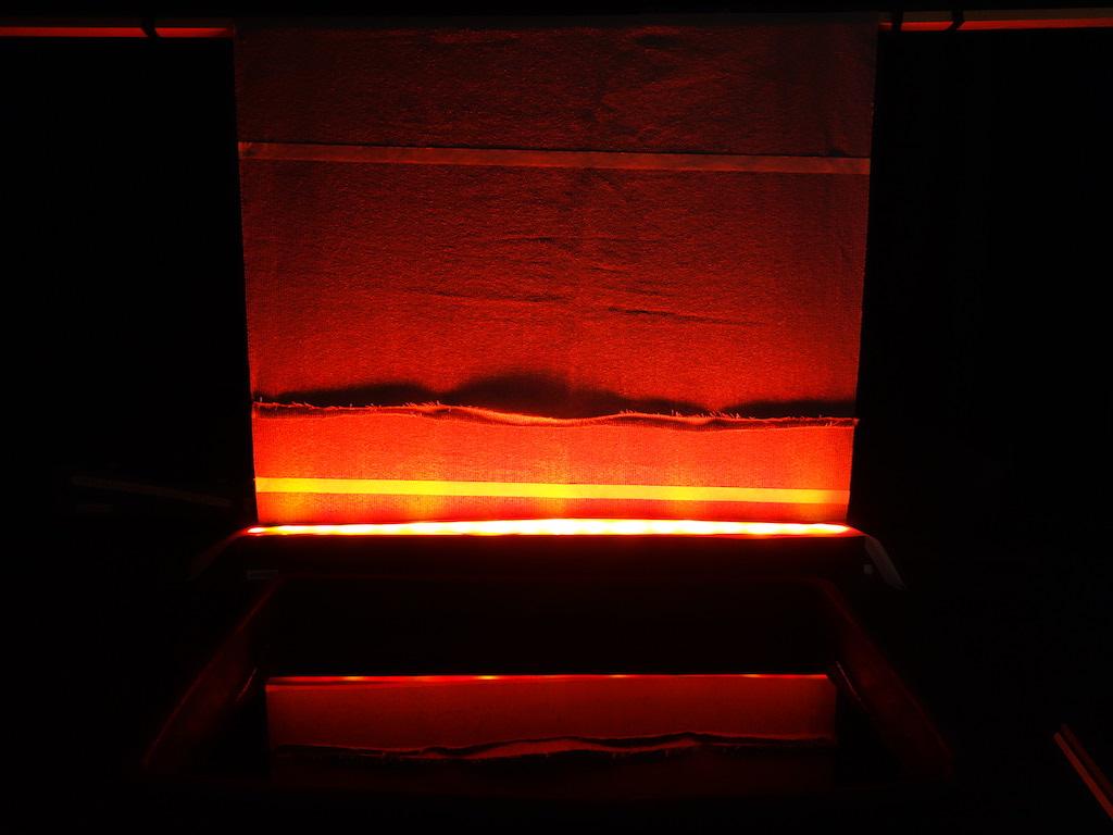 foto van schaaltheater in gebruik